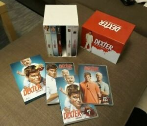 COFFRET COLLECTOR DVD SERIE THRILLER : DEXTER - SAISONS 1 A 6 INTEGRALES - MIAMI