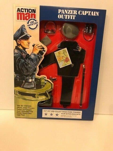 marca de lujo Vintage Vintage Vintage Acción Man 40th Panzer Capitán Traje  ofreciendo 100%