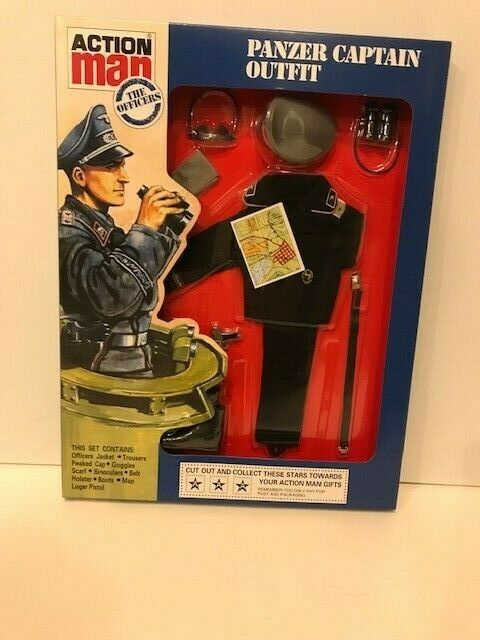 Vintage Action Man 40th Panzer Captain Outfit