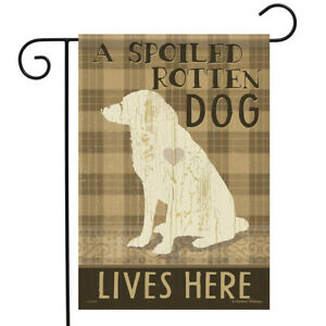 Dog Love Garden Flag Puppy Rescue Decorative Double Sided Banner 12 5 X 18 Ebay