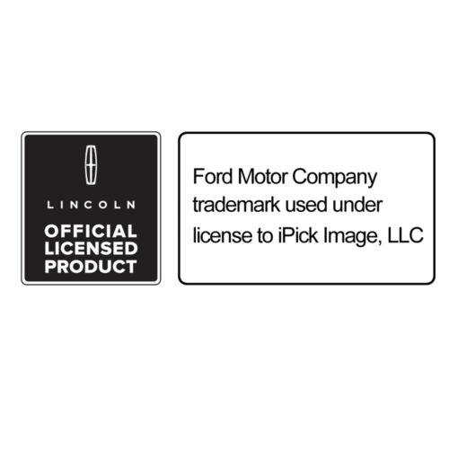 Lincoln MKC Real Black Carbon Fiber Gunmetal Black Metal Teardrop Key Chain