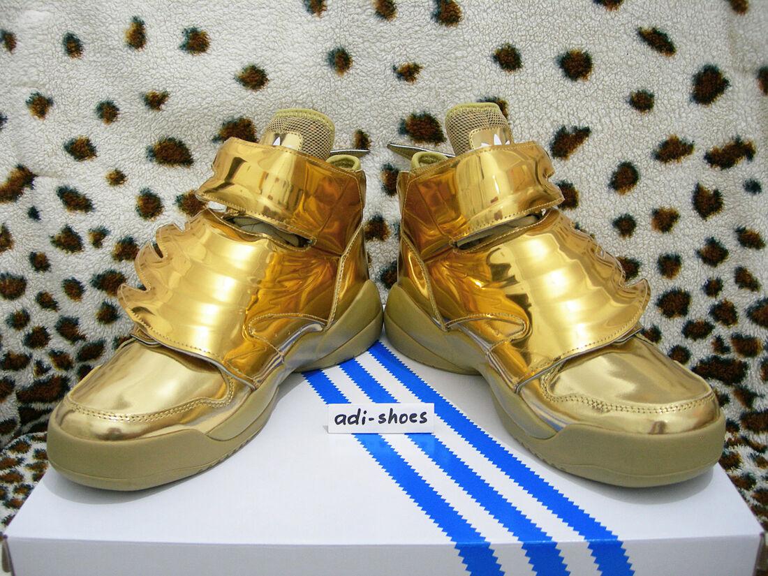 e17ac1b2ff1e adidas Jeremy Scott JS Wings 3.0 Gold UK 7 5 US 8 Flames B35651 ...