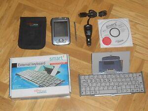 PDA-FUJITSU-SIEMENS-POCKET-LOOX-600-TECLADO-EXTENSIBLE-FUNDA-EN-PERFECTO-ESTADO