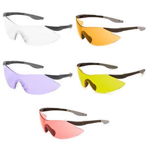 Target Shooting Safety Glasses Clear Shatterproof UV400 Lens