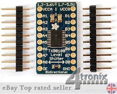 Adafruit 8-Channel 5V-3.3V Level Converter for Raspberry Pi GPIO, Arduino etc