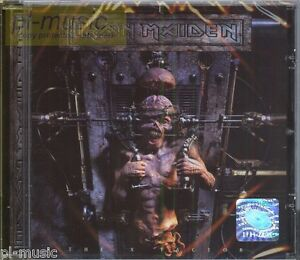 IRON-MAIDEN-THE-X-FACTOR-polish-stickers-CD-sealed-from-Poland
