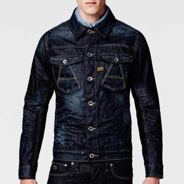 sells elegant shoes lower price with G-Star Raw Mens Empral 3d Leather Biker Jacket for sale online | eBay