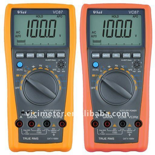 USA Seller!!! VC87 True RMS digital multimeter DMM 4 motor drives tester NEW