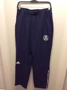 Adidas-Toronto-Argonauts-Sideline-Track-Pants-Size-M-Navy-Blue-Ankle-Zip