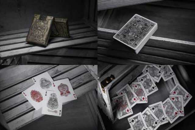 1 Deck Theory 11 Contraband Playing Cards with Custom Faces and Back Cards