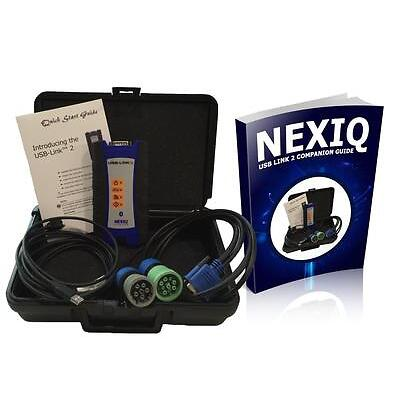 124032 Nexiq USB Link 2 with Companion Guide - Troubleshoot Fix Repair Truck