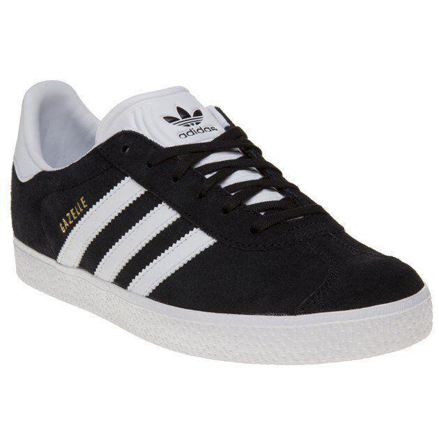 e58c8615464901 adidas Gazelle Y Shoes Retro Sneaker Black White Gold BB2502 Samba Dragon  Smith EUR 35 1 2 for sale online