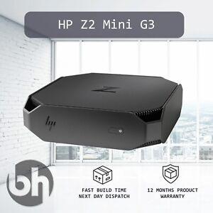 HP Z2 Mini G3 Workstation Windows 10Pro Configure upto 3.5GHz 1TB NVMe 32GB RAM