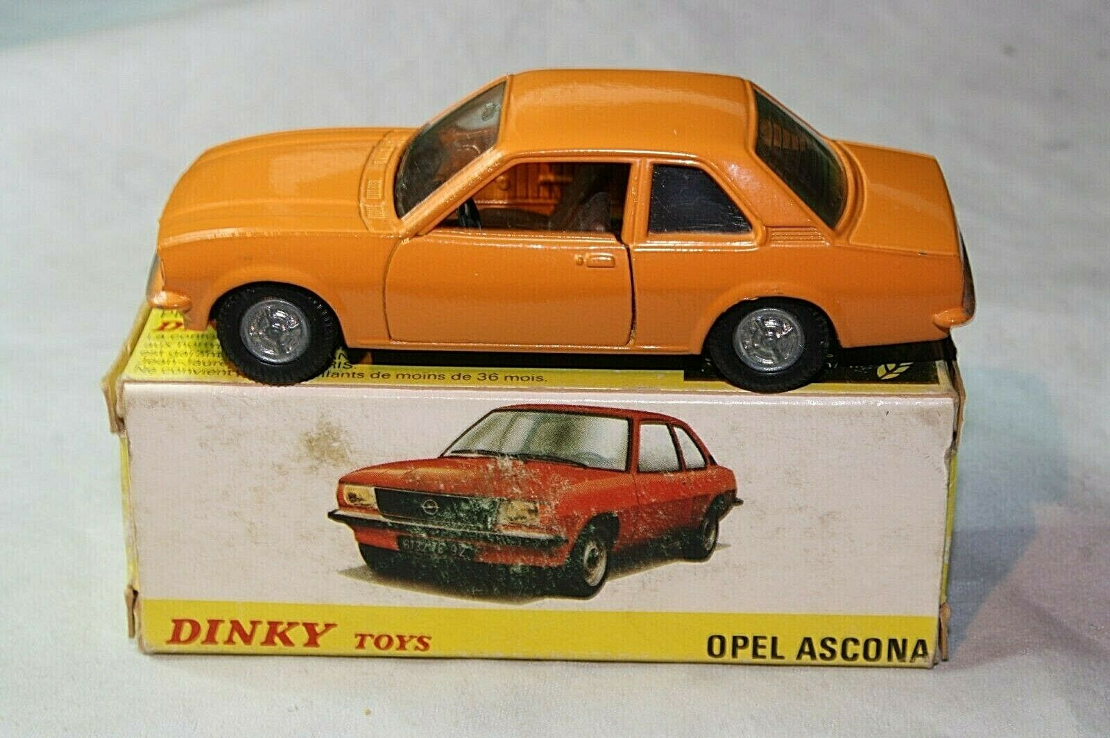 Dinky France 1543 Opel, Mint Condition in Good Original Box
