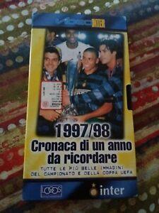 VENDO-VHS-1997-98-CRONACA-DI-UNA-ANNO-DA-RICORDARE-ottime-condizioni