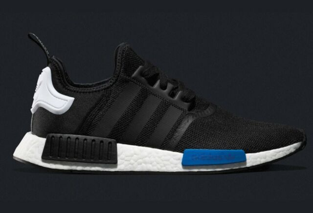 cheap for discount fa206 2aa49 Adidas NMD Nomad Runner Tokyo Black White Blue Size 12. S79162 yeezy ultra  boost