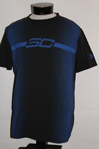 UNDER-ARMOUR-Mens-Large-L-30-STEPH-CURRY-heatgear-T-shirt-Combine-ship-Discount