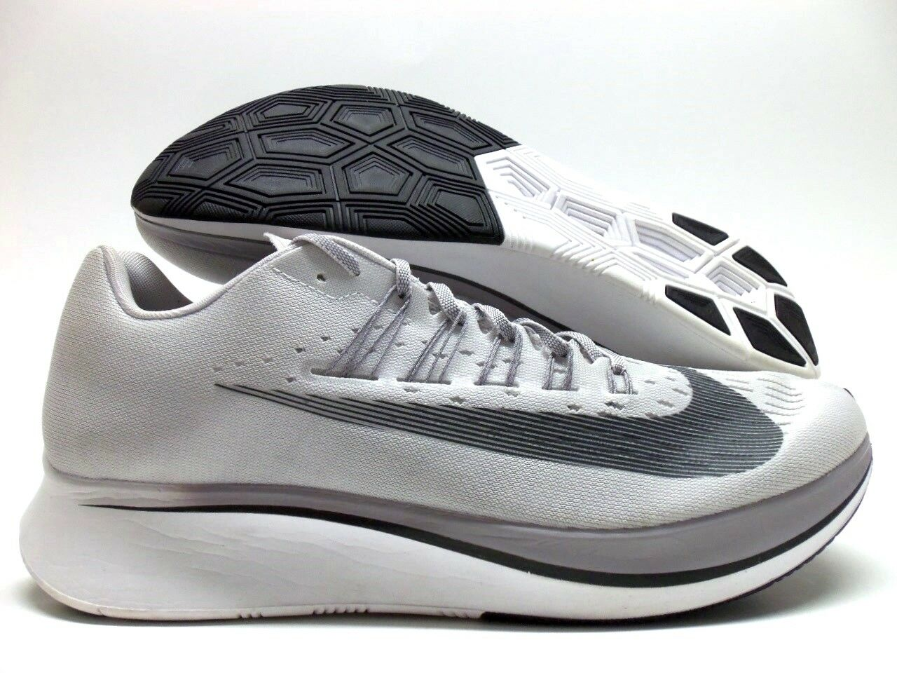 NIKE ZOOM FLY VAST GREY/ANTHRACITE SIZE MEN'S 13 Price reduction Seasonal clearance sale