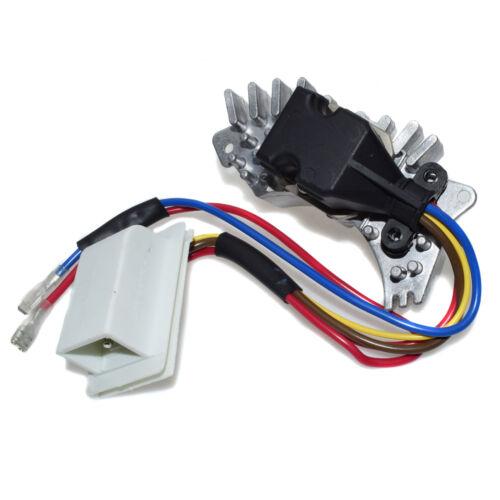 New Blower Motor Fan Resistor Regulator Fit Mercedes W202 C220 94-95 028202510