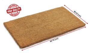 Coconut Fiber Coir Doormat Indoor Outdoor Natural Rug Nonslip Welcome Doormat