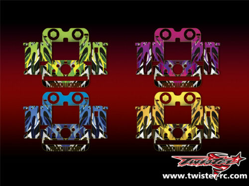 5 Style iCharger 406DUO Metallochrome Wave Pattern Wrap