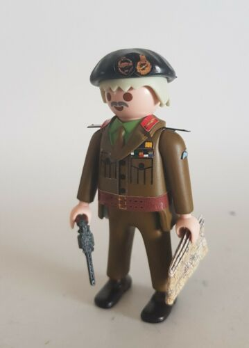 PLAYMOBIL custom MONTGOMERY EJERCITO INGLES WW2 SEGUNDA GUERRA MUNDIAL