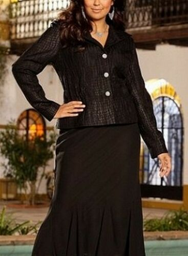Jacket m i Blazer Fes Black 40 Ladies Blazer court New Taille M 56 brillant Blouson qw8CnH8pE