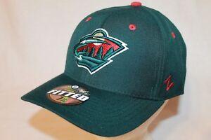 Minnesota Wild Hat Cap Throwback Shoot