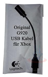 logitech g920 driving force usb kabel f r xbox gaming. Black Bedroom Furniture Sets. Home Design Ideas
