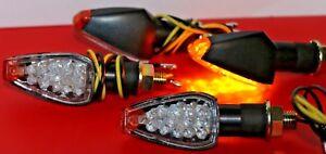 4X LED MINI TURNSIGNAL BLINKER UNIVERSAL KTM 990 Adventure//Supermoto,990 SM-R