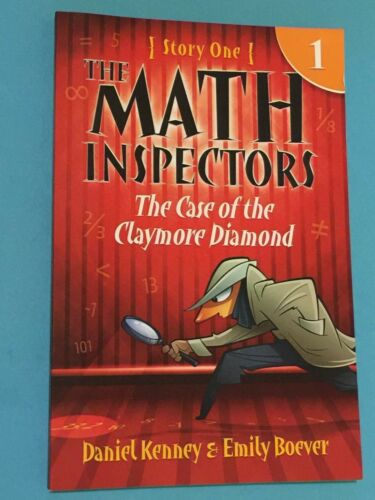 1 of 1 - The Math Inspectors:Story One [Science Fiction] by Daniel Kenney (Paperback)*