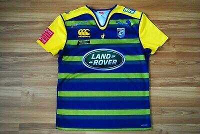 Canterbury Mens Cardiff Alternate Pro Short Sleeve Rugby Jersey