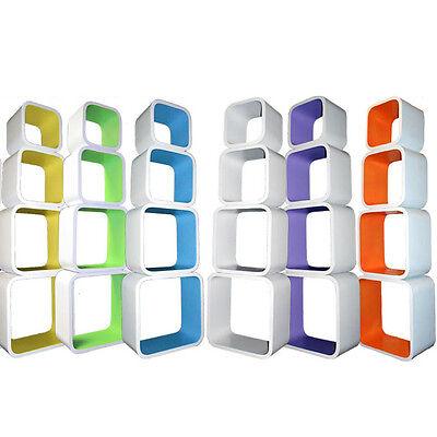 Cube Regale Wandregal Hängeregal Lounge DVD CD Bücherregal Cubes Regal Ablage MQ