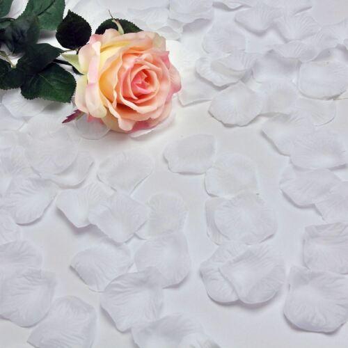 Artificiales Confeti pétalos de rosa Boda Aniversario Cumpleaños Fiesta Decoraciones