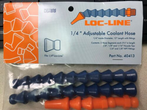 """LOC LINE #40413 1//4/"""" HOSE ASSEMBLY KIT hose and fittings new in package"""