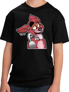 At Foxy New Fnaf T ShirtEbay Youth Five Nights Freddy's NOZPknwX80