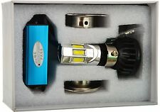6 LED HID KIT White Light BIKE / CAR Headlight HIGH / LOW BEAM - (12V)