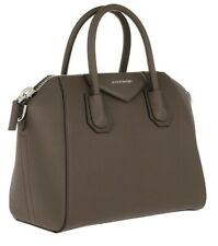 b05260e8321 Authentic Givenchy 'Small Antigona' Leather Satchel Bag in Heather Grey