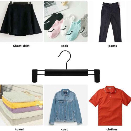 Hosenkleiderbügel Hosenhalter Klemmbügel Kleiderbügel für Hosen Socken Röcke