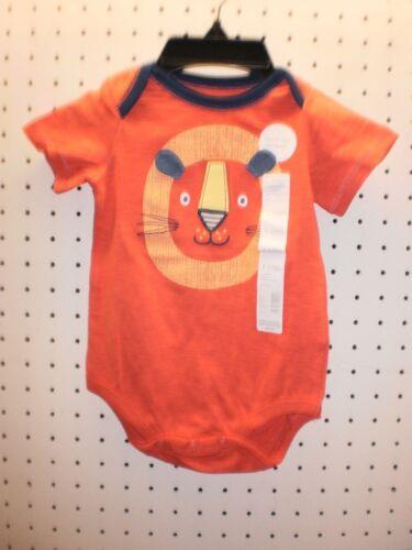 little wonders Infant Boys Lion ROAR One Piece 1-Piece Bodysuit FREE Shpg NWTA
