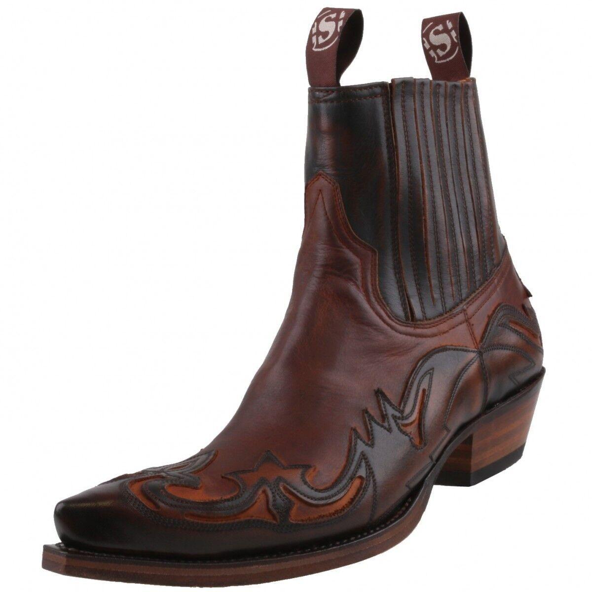Neu SENDRA Stiefel Herrenschuhe 4660 Western-Stiefeletten Western-Stiefeletten Western-Stiefeletten Stiefel Leder Schuhe   eb6fbe