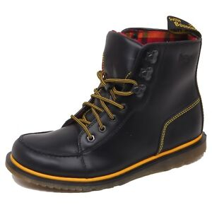 Dr F2856 no Box Man Weston Scarponcino Shoe Scarpe Martens Boot Uomo Black wZ7Tqw