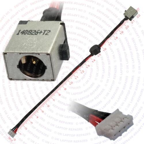 ACER Aspire e5-511-4149 DC IN Power Jack Porta Presa Con Connettore Del Cavo Filo