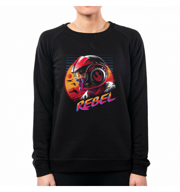 FELPA women RAD REBEL STAR WARS VT0098A PACDESIGN
