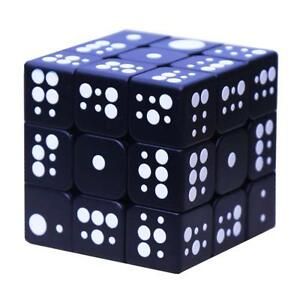 3d Touch Speed Cube 3x3x3 Relief Effect Braille Magic Puzzle Special