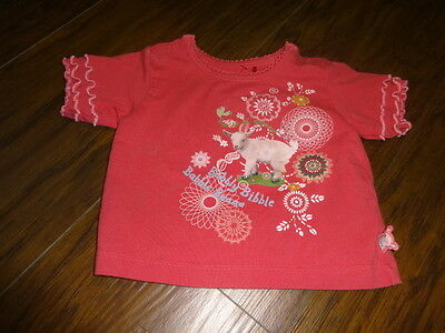 Clothing, Shoes & Accessories Straightforward Oilily 62 Pink Lamb Shirt Bubbly Bibble Babble Baaaa