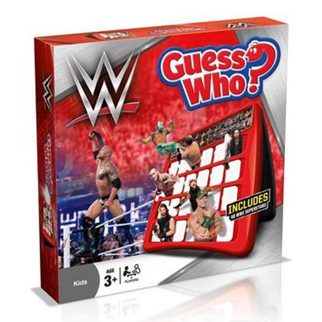 Wwe Guess Who  Beinhaltet 48 Wwe Superstars - Offiziell Lizenziertes Produkt B