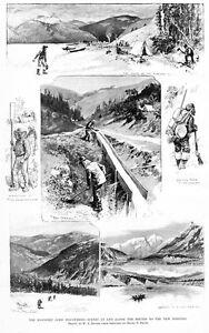 KLONDIKE-GOLD-DISCOVERIES-KLONDIKE-RIVER-MINERS-ANTIQUE