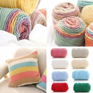 für Liebhaber Wolle DIY Milch Baumwollgarn Hand stricken Weaver Thread Crochet