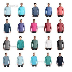 9186af674 Image is loading Comfort-Colors-4410-Garment-Dyed-Heavyweight-Ringspun-Long-